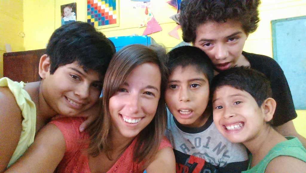 Argentina: Voluntariado con niños discapacitados