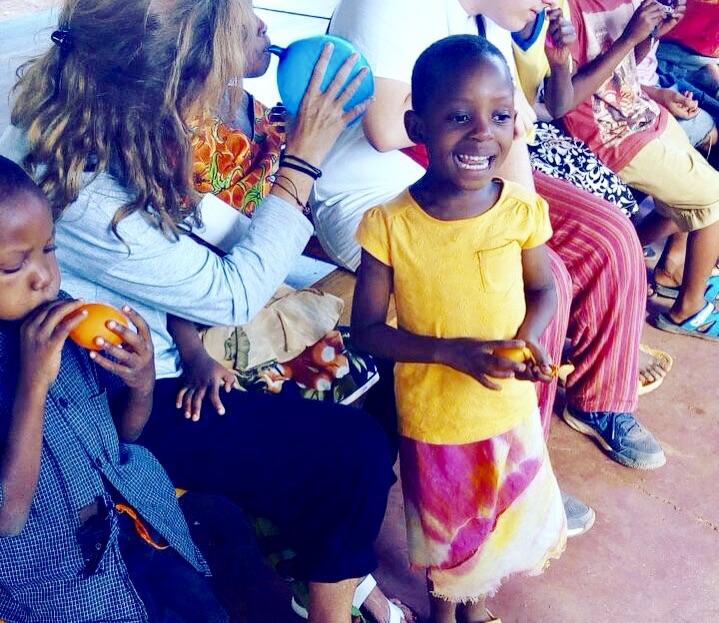 Voluntaria en Tanzania